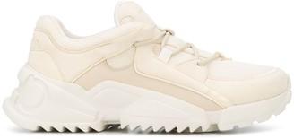 Salvatore Ferragamo Panelled Chunky Sneakers
