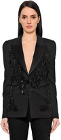 Thumbnail for your product : ZUHAIR MURAD Sequined Tuxedo Jacket