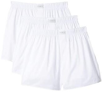 Tommy Hilfiger Cotton Classics Woven Boxer (White) Men's Underwear