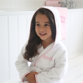 My 1st Years Personalised Pink Gingham Robe