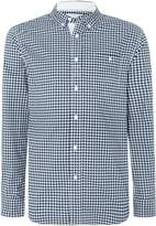 Canterbury of New Zealand Men's Gingham Long Sleeve Button Down Shirt