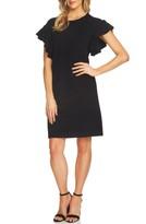 CeCe Women's Ruffle Sleeve Sweater Dress