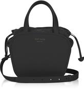 Meli-Melo Rosetta Black Leather Crossbody Bag