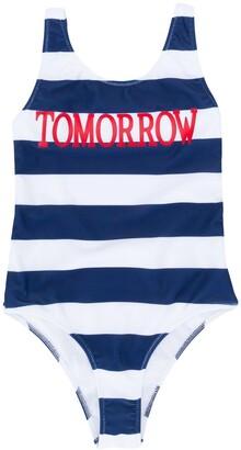 Alberta Ferretti Kids Tomorrow print swimsuit