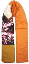 Roksanda Patchwork Quilted Silk Scarf - Womens - Multi
