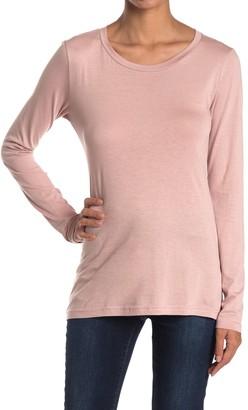 Caslon Scoop Neck Long Sleeve T-Shirt