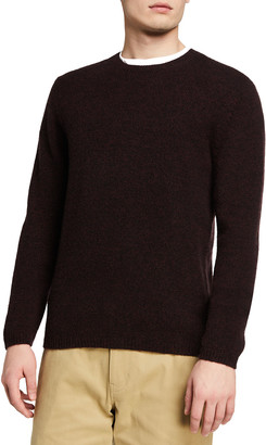 Vince Men's Solid Cashmere Crewneck Sweater