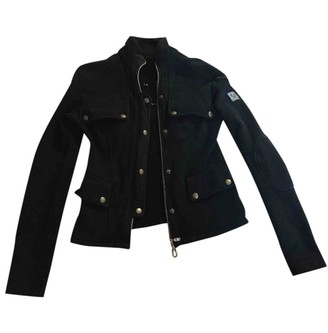 Belstaff Black Cotton Jacket for Women
