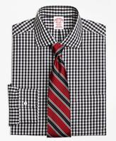 Brooks Brothers Non-Iron Madison Fit Gingham Dress Shirt
