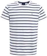 Gant Breton Print Tshirt White