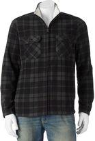 Croft & Barrow Big & Tall Classic-Fit Plaid Arctic Fleece Jacket