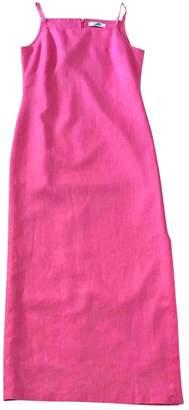 Ungaro Pink Linen Dresses