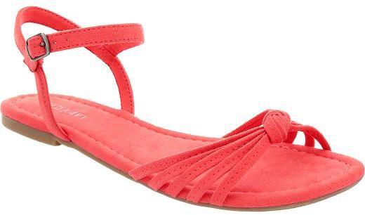 Old Navy Women's Sueded Multi-Strap Sandals