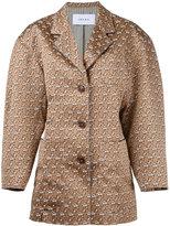 Irene - floral jacquard jacket - women - Cotton/Polyester/Polyurethane - 36