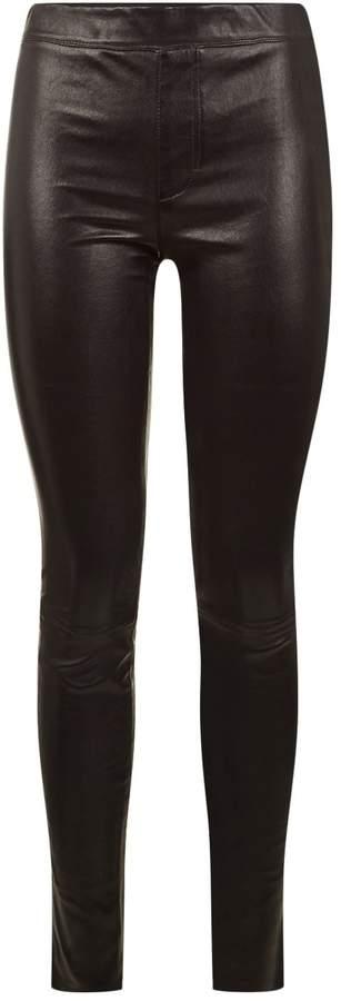 Helmut Lang Stretch Leather Leggings