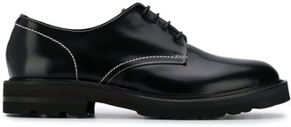 Low Brand lace-up Derby shoes