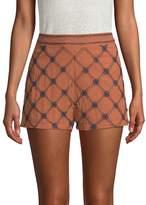 Endless Rose Women's Embellished High Waist Shorts