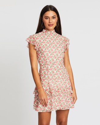 Atmos & Here Florence Floral Mini Dress