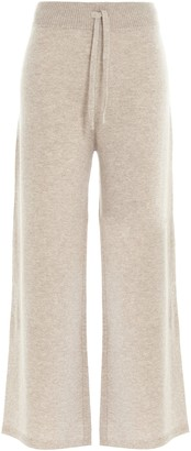 Max Mara Pagella Wide-Leg Sweatpants