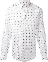 Kenzo Eyes shirt - men - Cotton/Spandex/Elastane - 42