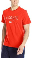 Lacoste Men's Short Sleeve Sailing Club Graphic Regular Fit T-Shirt