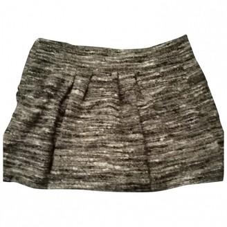 Etoile Isabel Marant Grey Wool Skirt for Women
