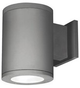 """W.A.C. Lighting Tube LED Outdoor Armed Sconce Finish: Graphite, Size: 11.75"""" H x 8"""" W"""