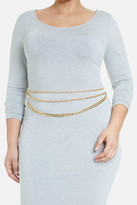 Fashion to Figure Lila Three Row Chain Belt