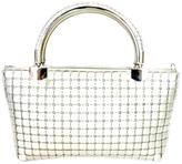 ANTONELLO SERIO Silver Evening Bag