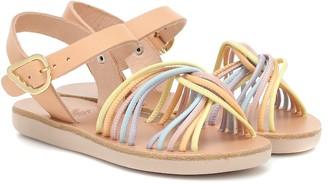 Ancient Greek Sandals Kids Little Eva leather sandals