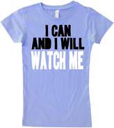Micro Me Lavender 'Watch Me' Fitted Tee - Infant, Kids & Tween