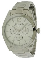 Kenneth Cole New York Women's 10027823 Dress Analog Display Japanese Quartz Silver Watch