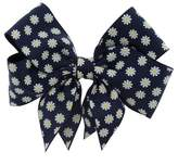 Charlotte Girls' Bow Shaped Clip - Navy One Size