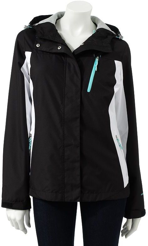 Free Country hooded water-resistant ripstop jacket
