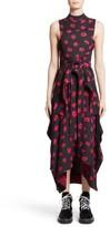 Proenza Schouler Women's Tie Waist Ikat Maxi Dress
