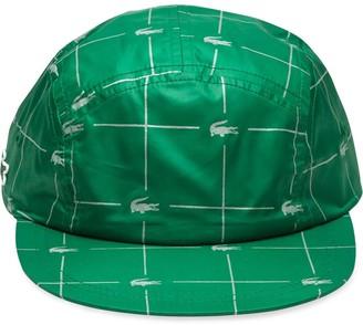 Lacoste Supreme x reflective grid cap