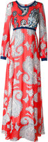 Manoush paisley print maxi dress - women - Cotton/Nylon/Polyester - 36