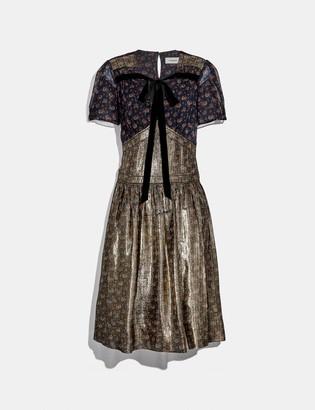 Coach Daisy Print Dress