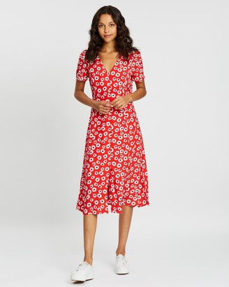 Gap Button-Through Midi Dress