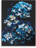 Graham & Brown Blooms In Blue Canvas Wall Art