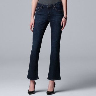 Vera Wang Women's Simply Vera Power Stretch Bootcut Jeans