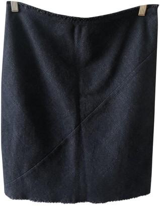 Etoile Isabel Marant Navy Wool Skirt for Women
