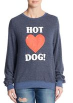 Wildfox Couture Hot Dog Pullover