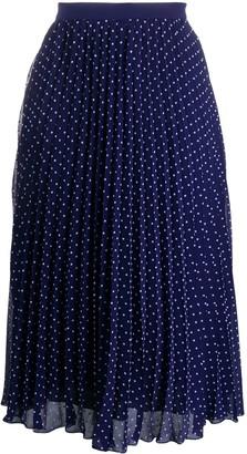 Philosophy di Lorenzo Serafini Polka Dot Print Midi Skirt