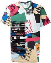 Kokon To Zai sign print T-shirt - men - Cotton - XS