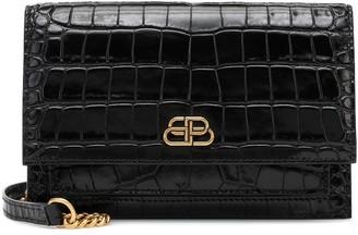 Balenciaga Sharp leather crossbody bag