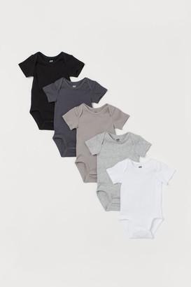 H&M 5-pack Bodysuits - Gray