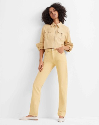 Club Monaco Textured Crop Jacket