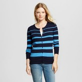 Merona Women's Favorite Cardigan Long Sleeve Stripe