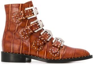 Givenchy stud-embellished multi-strap ankle boots